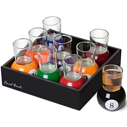 Pool Shots Party Drinking Game