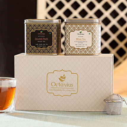 Assam Tea Leaf Combo Box Online:Tea Gift Hampers