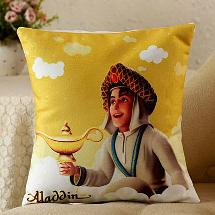 personalised cushion for boy:Gifts Bhai Dooj for Kids