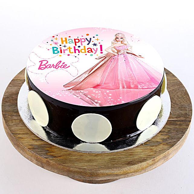 Princess Barbie Chocolate Cream Cake 1Kg