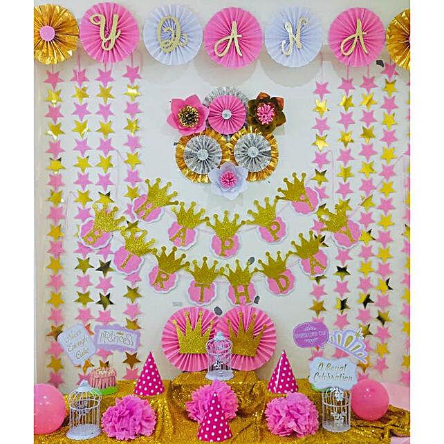Princess Theme Birthday DIY Box