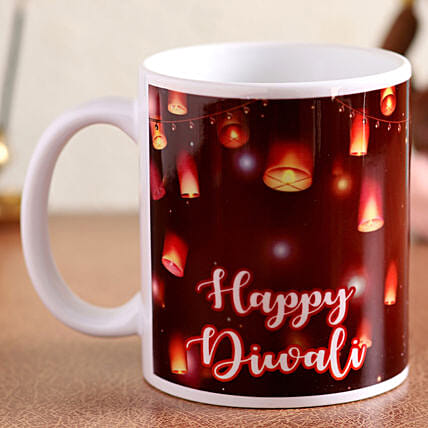 diwali printed mug for her:Diwali Mugs