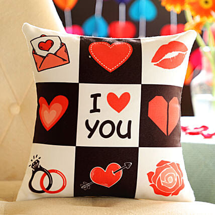Online Love You Cushion
