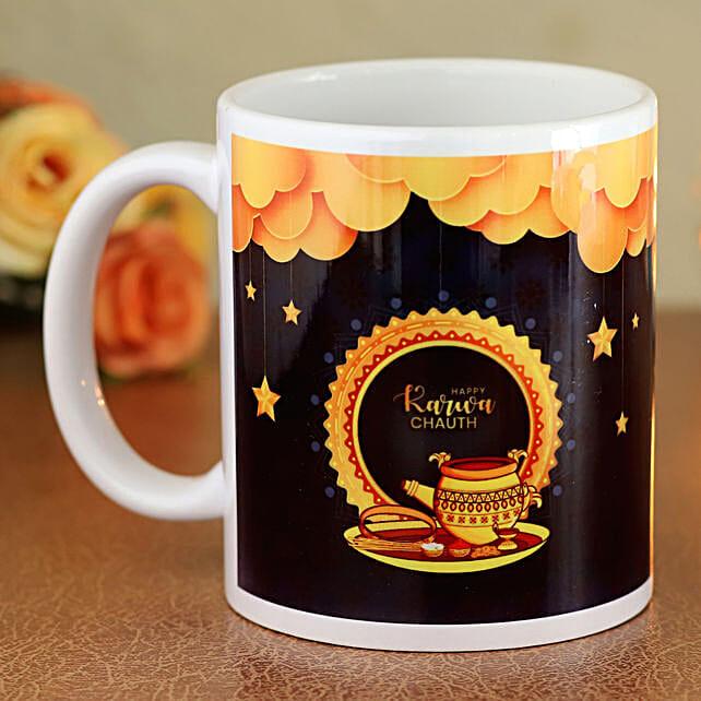 online printed mug for karwa chauth