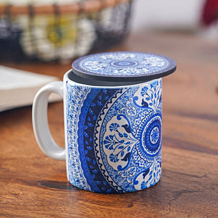 Expresso Mug With Coaster Online:Handcrafted Gifts