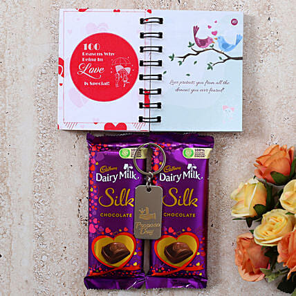 Propose Day Special Silk Gift