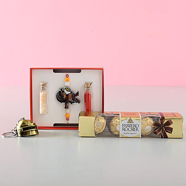 Fancy Rakhi and Chocolate Online