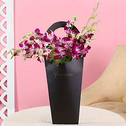 online orchids:Purple Flowers