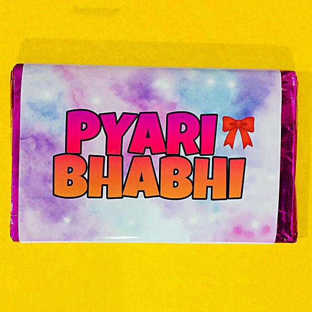 Send Chocolate Bar For Bhabhi