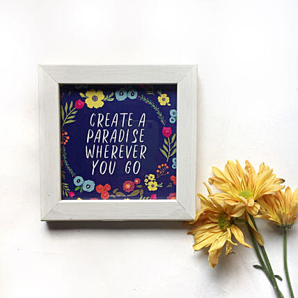 Quote Wall Frame Online