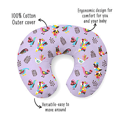 Breezy Nursing Pillow Feeding Pillow Magnolia