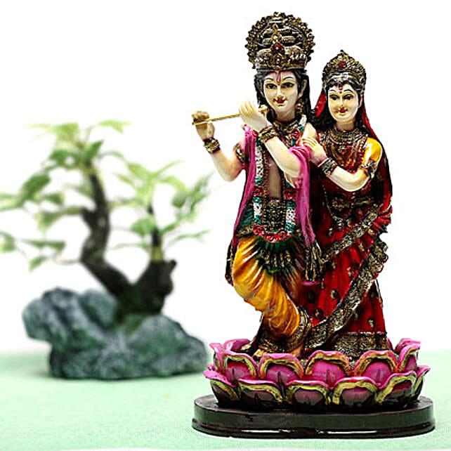 Radha Krishan Idol-Radha Krishna:Send Janmashtami Gifts