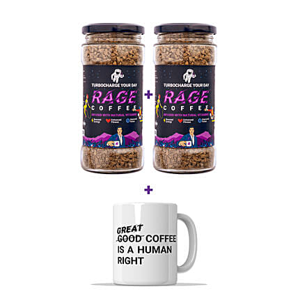 Rage Premium Arabica Coffee With Free Coffee Mug:Buy Gourmet Gifts  in India