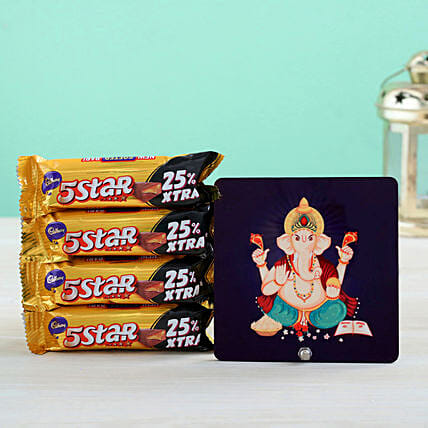 Raja Ganesha Table Top & Chocolates Treats