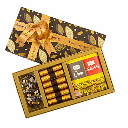 Handmade Choco Box with Rakhi