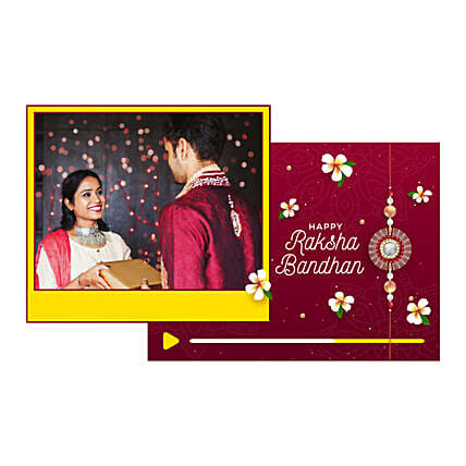 Rakhi Personalised Video Message For Brother:Personalised Video Messages
