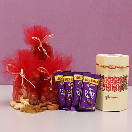 Rakhi and Dry Fruits Online