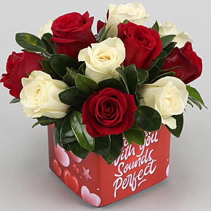 online valentine day roses