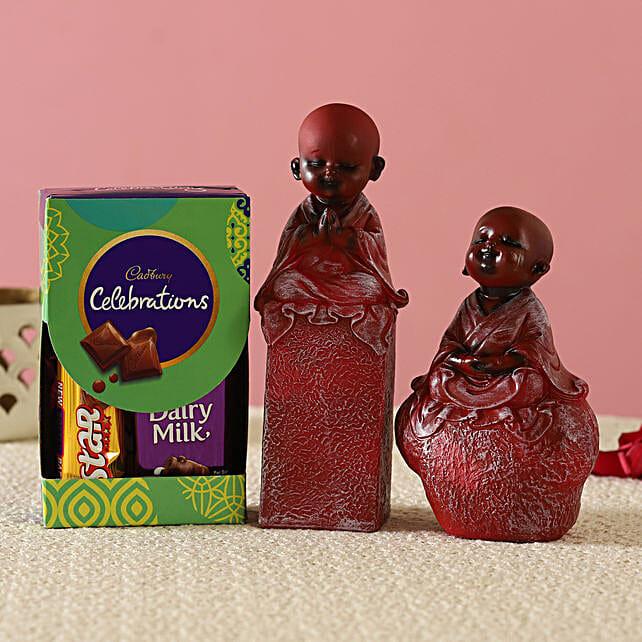 Red Monk Idols & Cadbury Combo