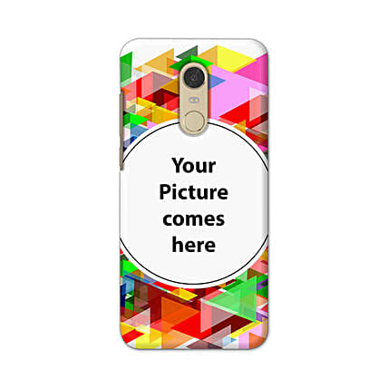 Redmi Note 5 Multicolor Personalised Phone Cover
