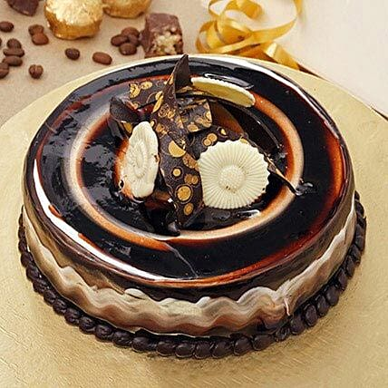 Refined Marble Cake
