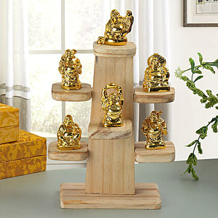 Resin Buddha set:Feng Shui Gifts