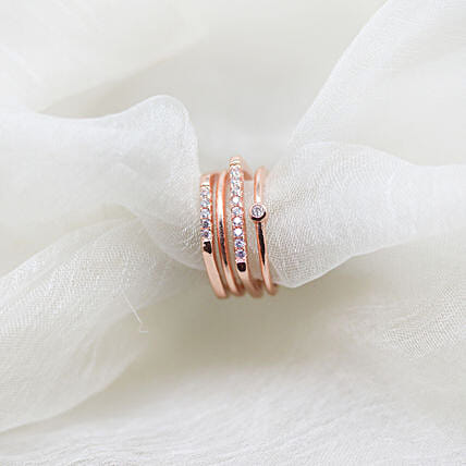 Online Rose Gold Ring For Her