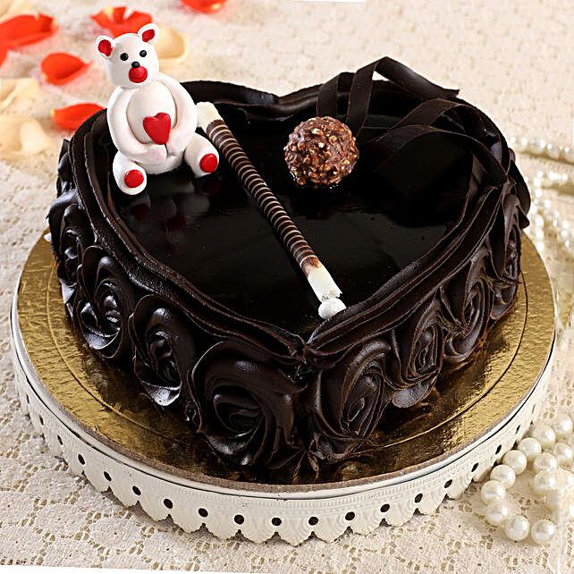 Rich Love Fondant Truffle Cake