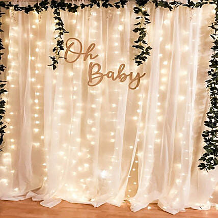 Romantic Backdrop Decor