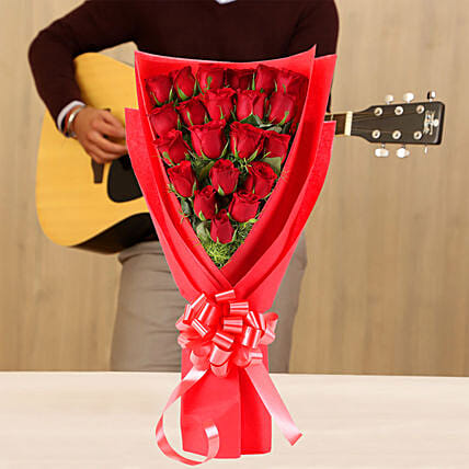 Online Romantic Roses Musical Combo
