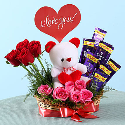 Romantic Surprise Basket