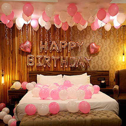 Room Decoration Services For Birthday Anniversary Ferns N Petals