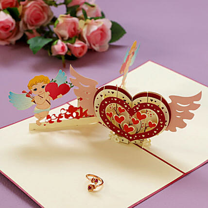 Valentine Card and Ring Online:Greeting Cards