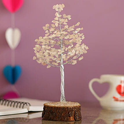 online decorative rose quartz wish tree for thank you