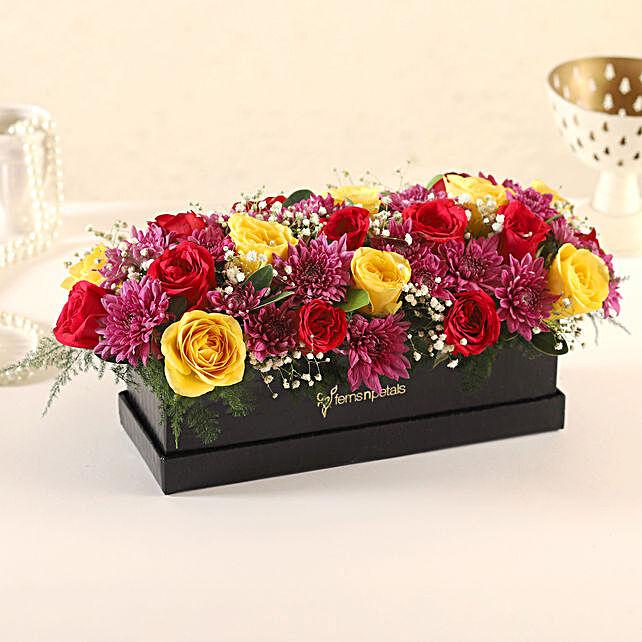 Online Roses:Flowers In box