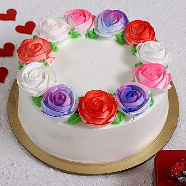 Roses Love Designer Cake