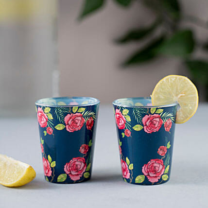Rose Shot Glass:Handicraft Gifts for Mothers Day
