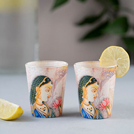 Online Beautiful Shot Glass:Handicraft Gifts for Mothers Day