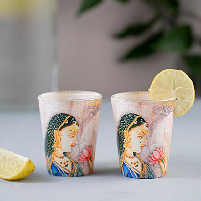 Online Beautiful Shot Glass:Send Handicraft Gifts to Ghaziabad