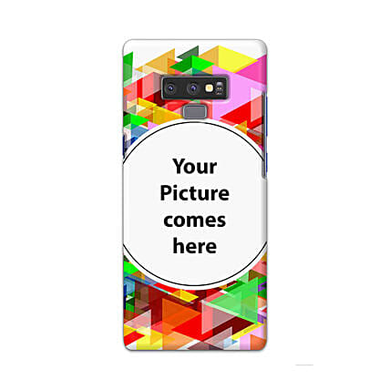 Samsung Galaxy Note 9 Multicolor Personalised Phone Cover