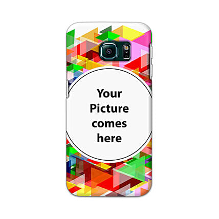Samsung Galaxy S6 Edge Multicolor Personalised Phone Cover