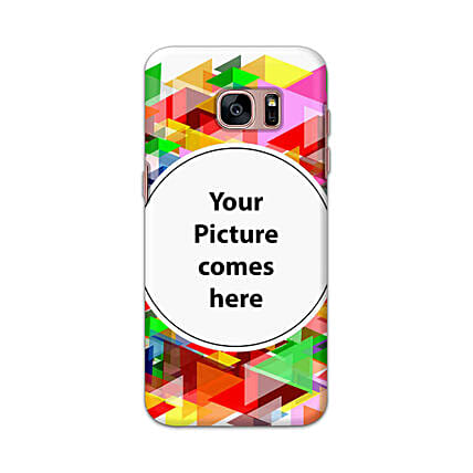 Samsung Galaxy S7 Edge Multicolor Personalised Phone Cover