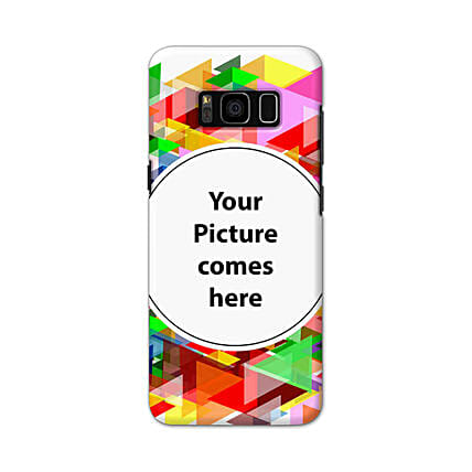Samsung Galaxy S8 Plus Multicolor Personalised Phone Cover