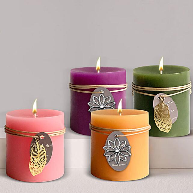 Classic Aroma Candle Pillars