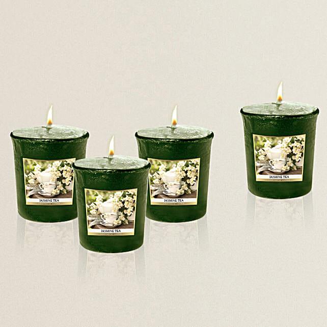 Beautiful Candles Glass Set Online