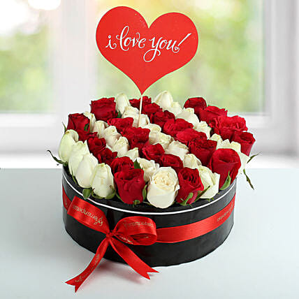Mixed Rose Arrangemets,Know more about the days leading up to Valentine's day like Rose Day, Chocolate day and Anti-Valentine's day like break up day, slap day and more.