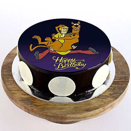 Scooby Cartoon Cake for Kids