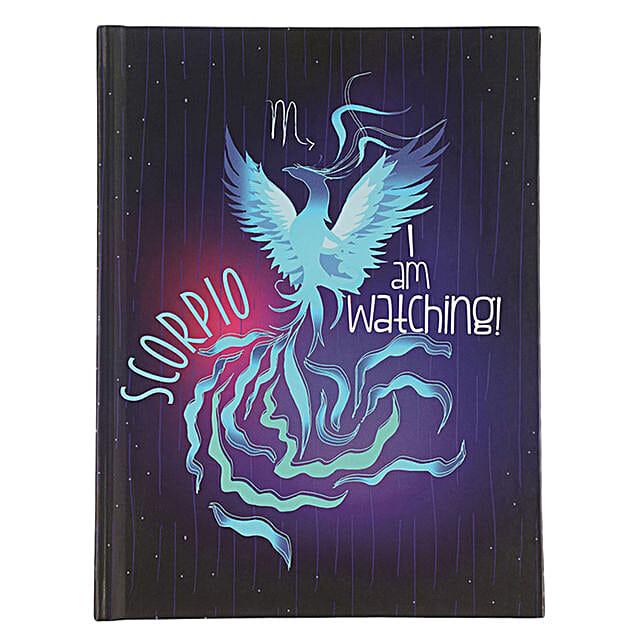 Online Scorpio Hardcase Notebook:Handmade Gifts
