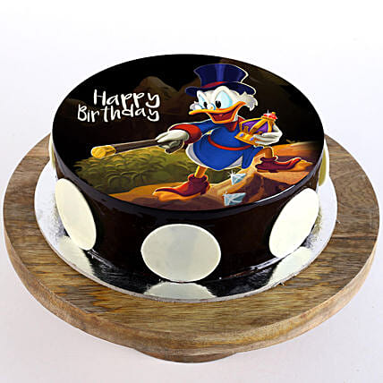 online Disney photo cake for kid