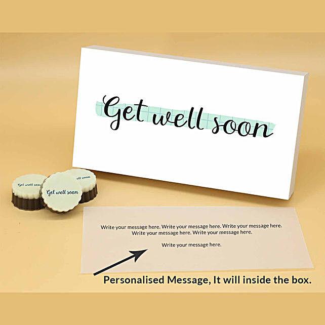 Online Send Good Vibes Personalised Chocolates